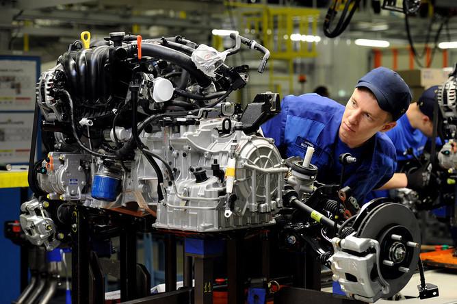 моторный завод фото