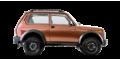 LADA (ВАЗ) 4x4 (2121) Bronto 3дв - лого