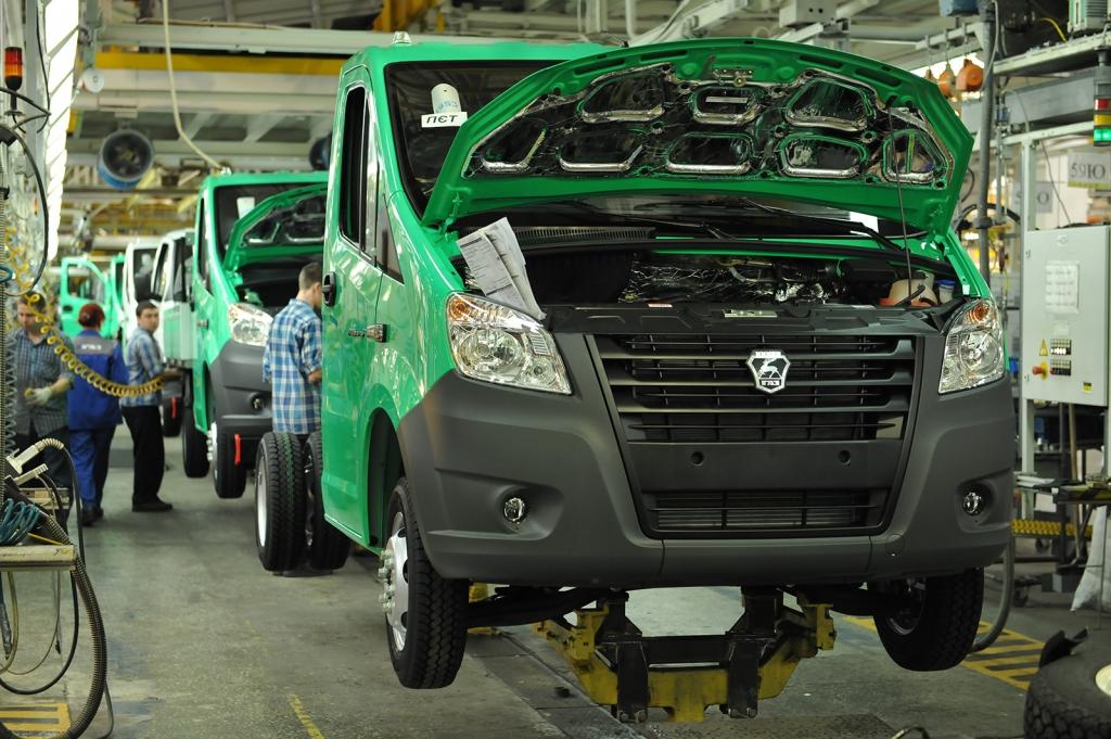 Горьковский завод ГАЗ получит новые льготы попроекту производства «ГАЗели NEXT»