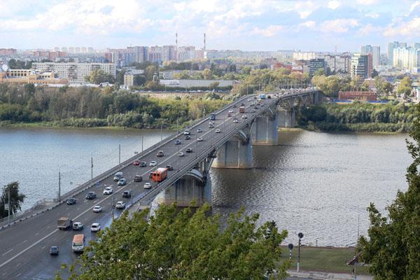 Молитовский мост в Нижнем Новгороде
