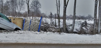 Мертвого водителя нашли на трассе после ДТП недалеко от Дзержинска